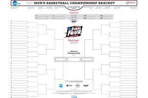 NCAA FINAL FOUR BRACKET
